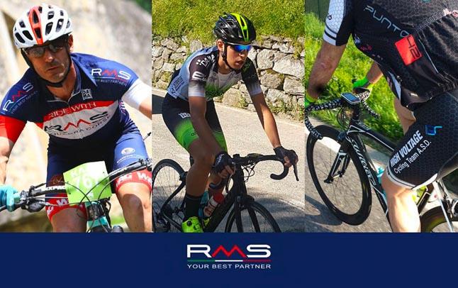 RMS per il ciclismo amatoriale: qualità e sicurezza a supporto della passione