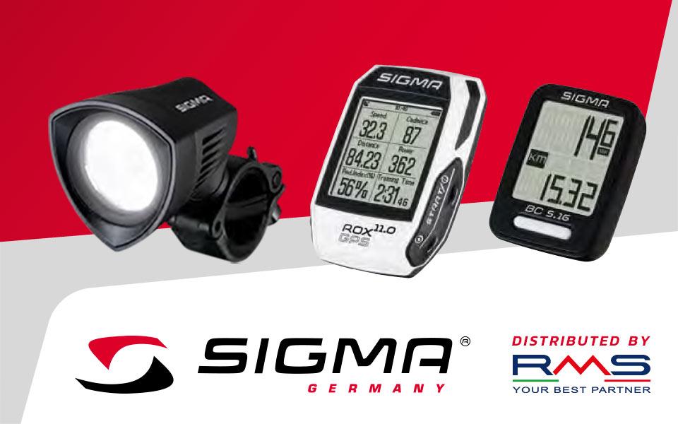 Dal ciclocomputer ai GPS per bici: scopri la linea Sigma Sport distribuita da RMS!