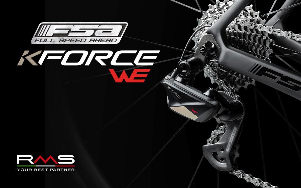 Scopri K-Force WE, l'innovativo gruppo completo FSA per bici distribuito da RMS!