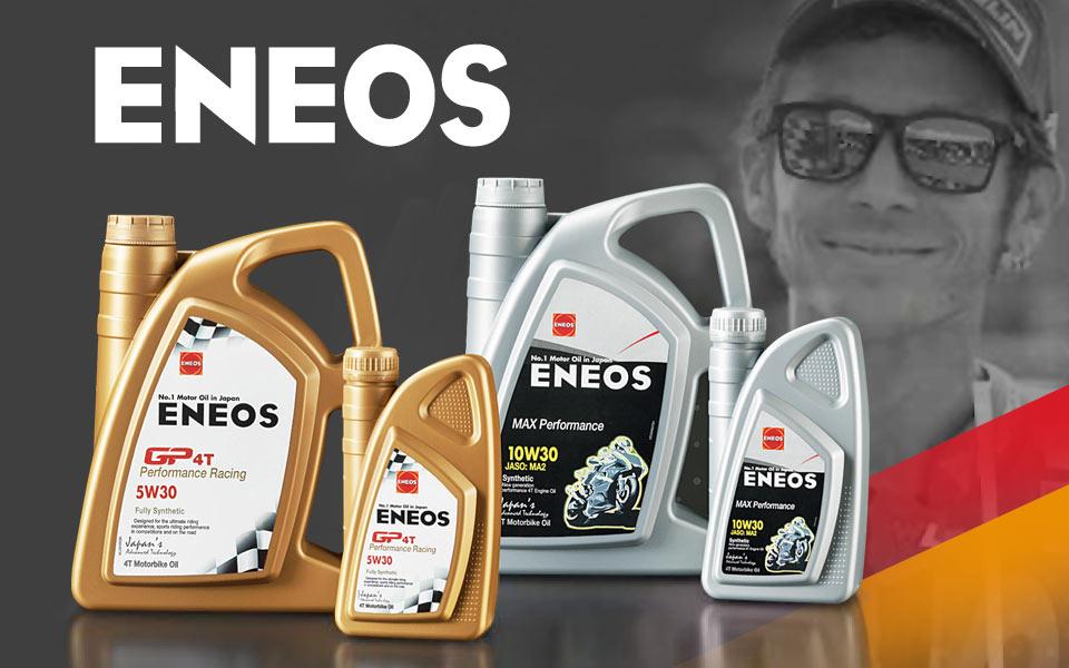 RMS distribuisce ENEOS, l'olio scelto da Valentino Rossi