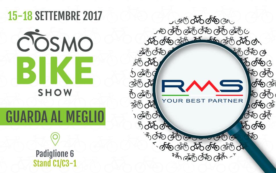 CosmoBike Show Verona 2017: ecco 10 buoni motivi per visitare lo stand RMS!