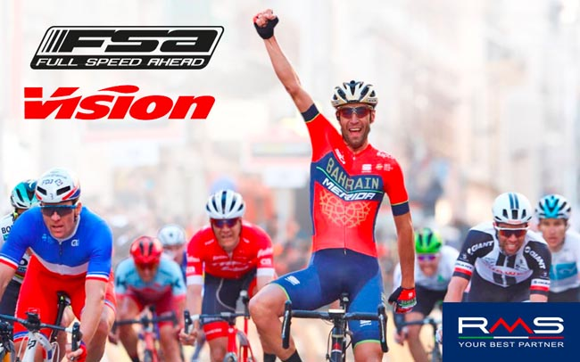 FSA e Vision anche nel 2018 al fianco di Nibali e dei più grandi campioni di ciclismo