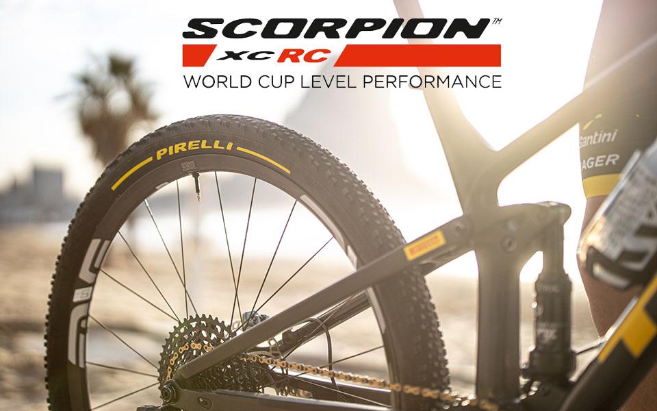Scorpion™ XC RC, la nuova gomma XC race di Pirelli