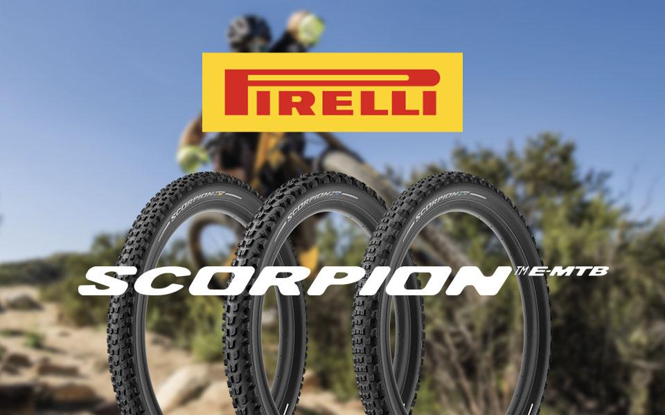 Scorpion™ E-MTB, le nuove gomme Pirelli per e-mtb