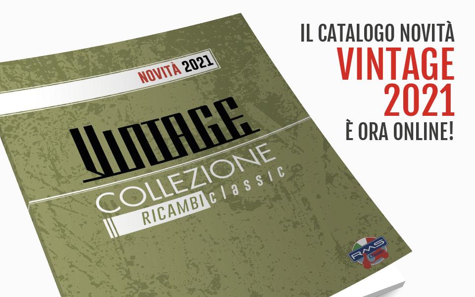 Catalogo novità Vintage 2021