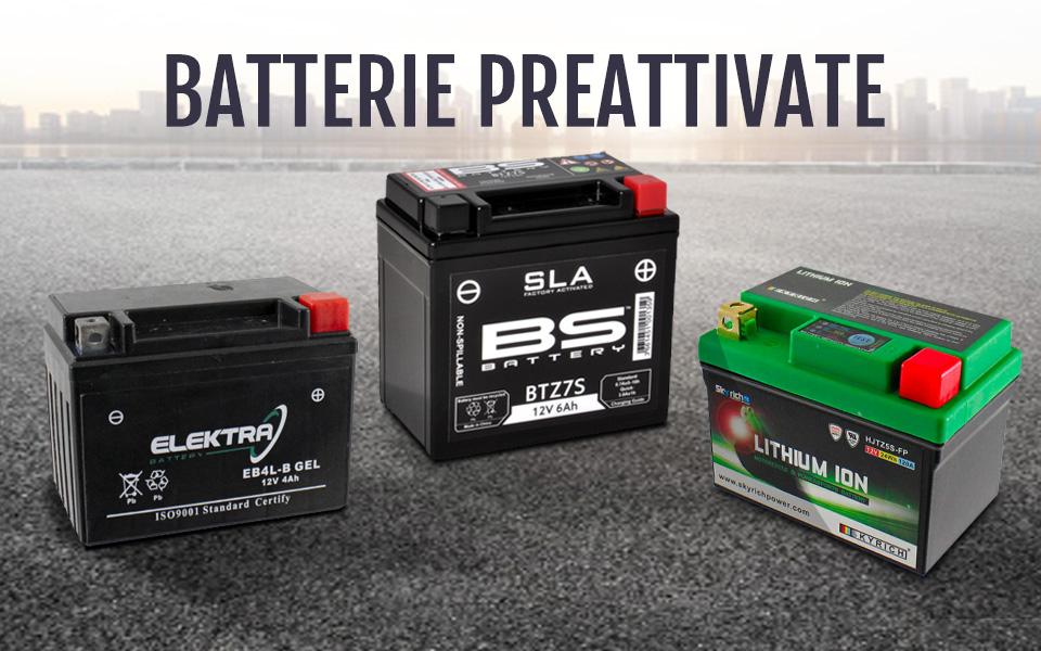 Scopri i vantaggi delle batterie pre-attivate!