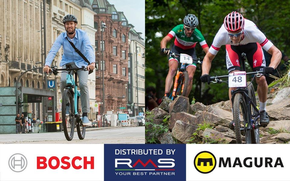 Bosch e Magura: componenti di affidabilità tedesca nel magazzino RMS!