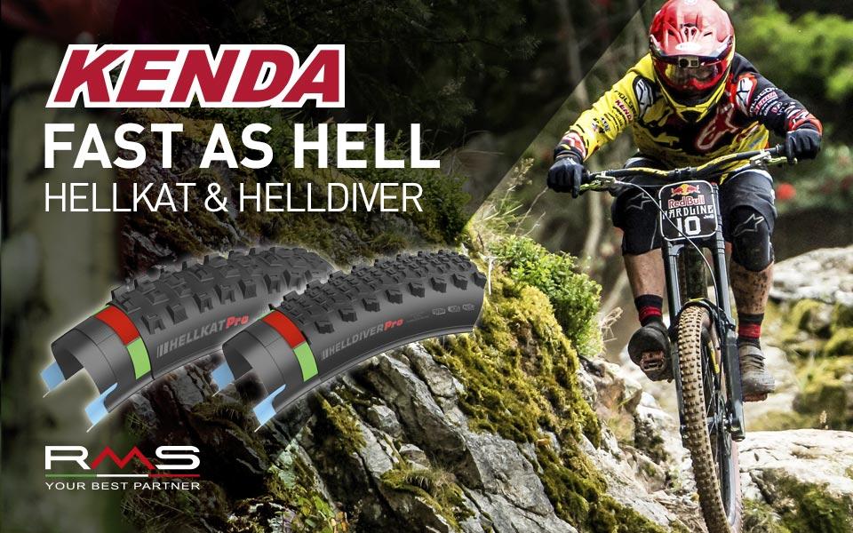 Kenda presenta Hellkat e Helldiver: le novità 2017 per il downhill le trovi dai rivenditori RMS!